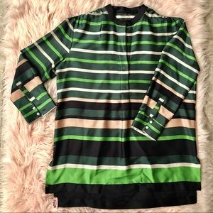 Ann Taylor Striped Shirt